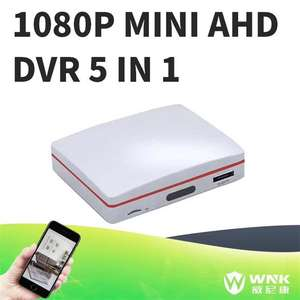 2018 últimas 5 en 1 todo-en-uno video recorder con xmeye mini DVR 4ch AHD 1080 p