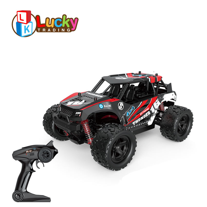 high speed car 1:18 scale 4wd 4x4 rc monster truck for newest smart products