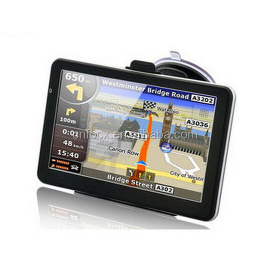 7 Inch Car GPS Navigation / Touch Screen GPS / 7 inch gps navigation