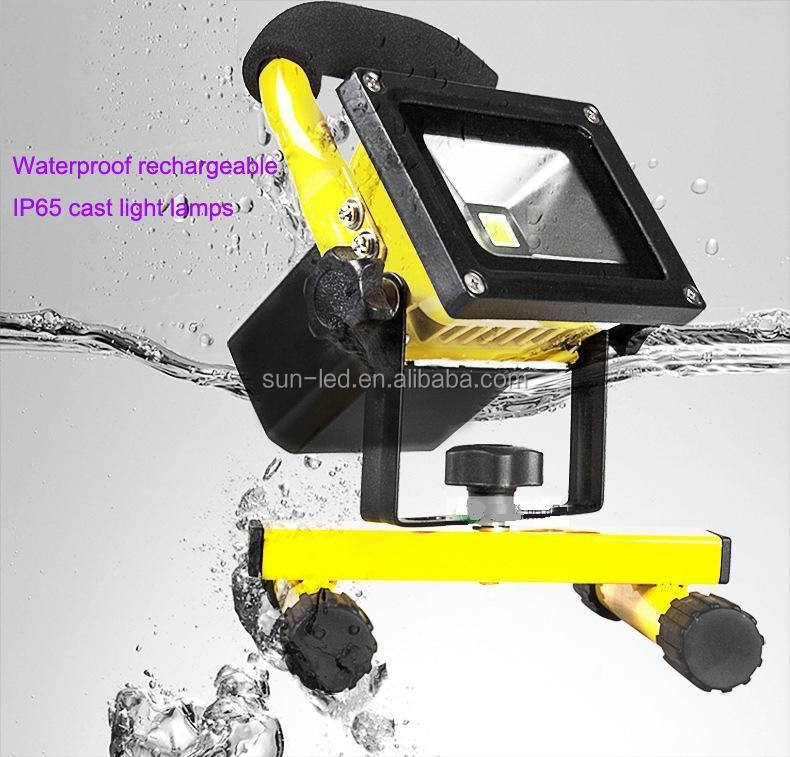 Camping Fishing Outdoor Spotlight 20ワットPortable Rechargeable LED Floodlight Emergency Lamps
