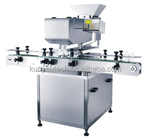 Tablet and Softgel capsule Counting and packing Production Line For Pharmaceutical Industry