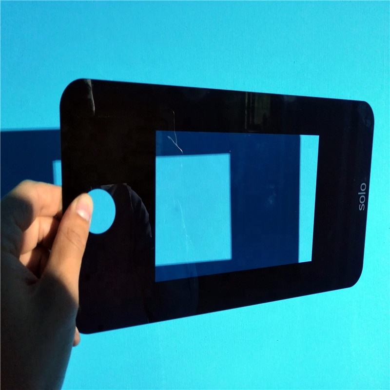 custom Led Cover Camera Protector Ultra White Tempered Glass Panel
