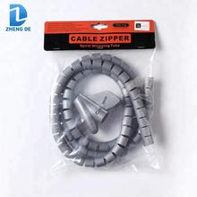 High quality white transparent cable spiral wrap