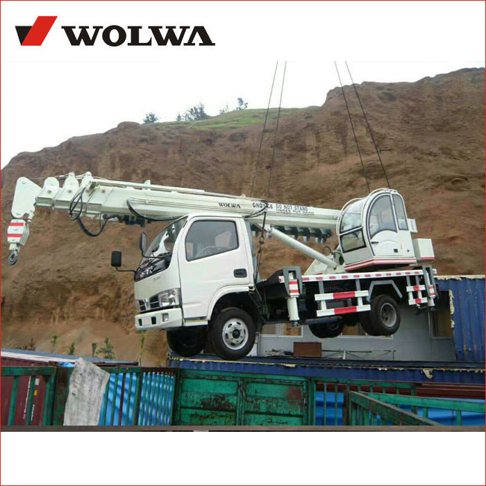 8 ton lifting pickup truck crane with truck crane right hand drive