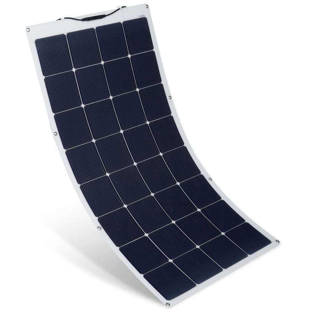 high efficiency 12v 18v 100w sale sunpower solar cells/cell solar panels price for car/boat/roof