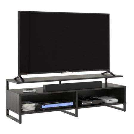 3-Tier Stand for TV up to 50 TV Table Storage Cabinet for Home TV Cabinet for Office