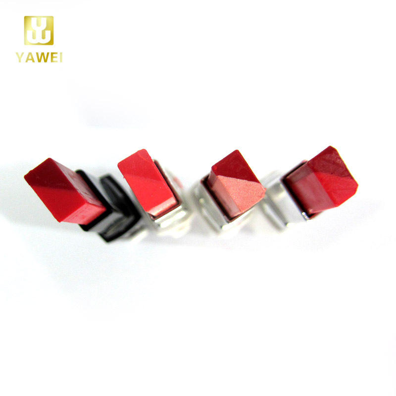 New Square Double Bright Colors Lipstick for Bit Lips Kiss Makeup cosmetic beauty