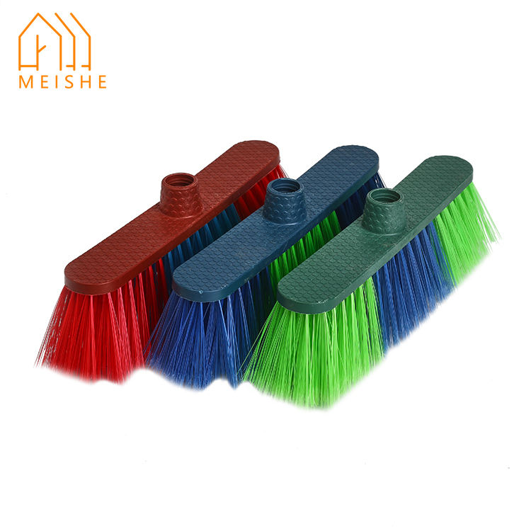 china factory wholesale price colourful ceiling cleaning broom