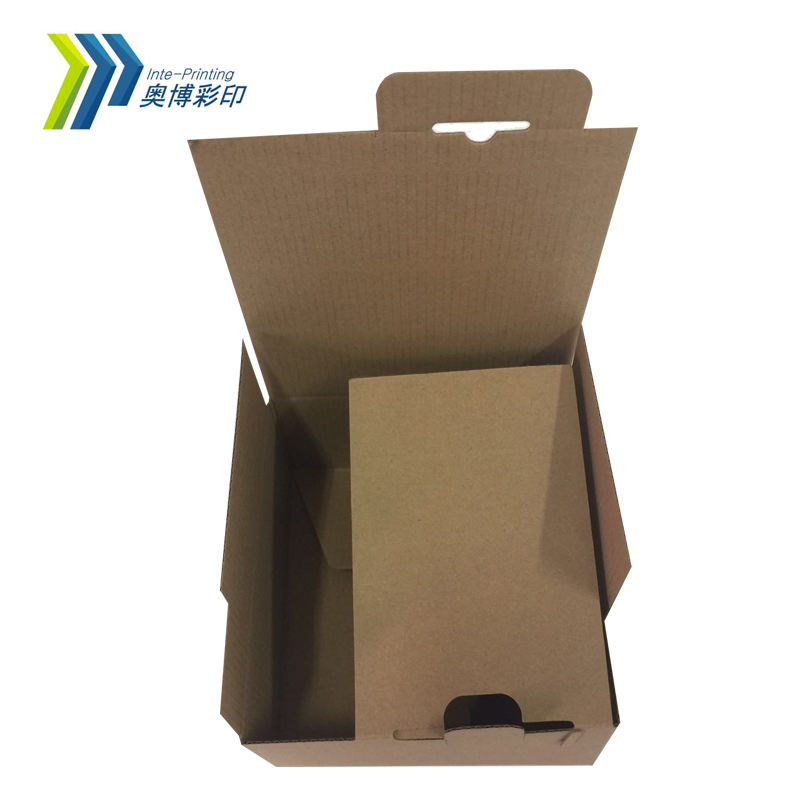 Aobo Professional Custom Corrugated Food Shipping Package Carton Boxes