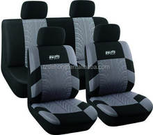 Well Fit Full Set Polyester Car Seat Cover With Tire Pressing