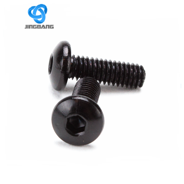 Anodized screw and nut with anodized mixed color titanium bolts