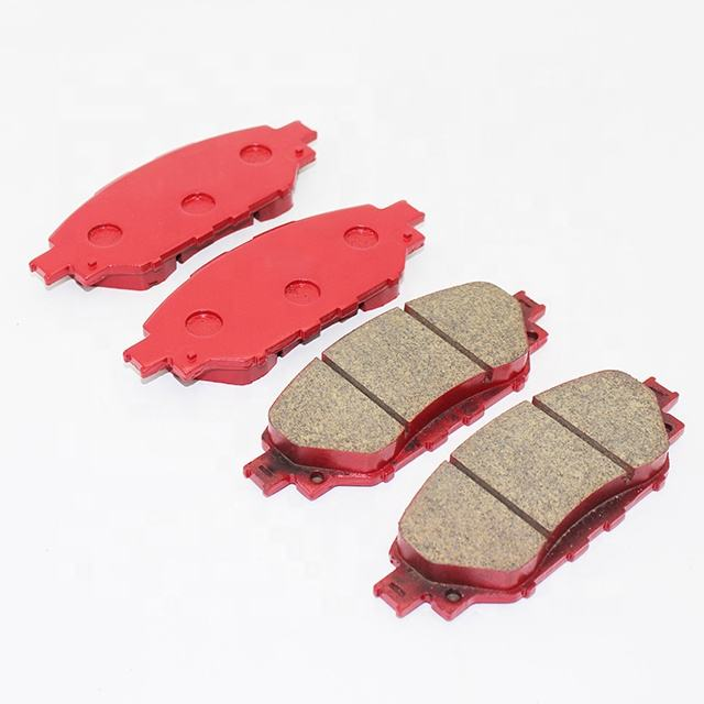 Car parts brake pad for toyota 0 D2058-9236 with E11 E-MARK no noise brakepad