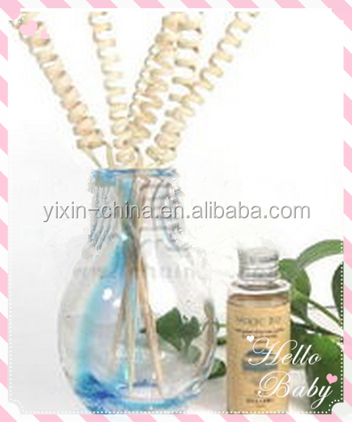 wholesale perfume diffuser with wood lid/clear glass oil burner