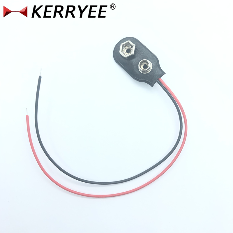 I type #26 wire 9V battery clip connector