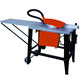 Vertical and portable electric wood cutting panel saw machine