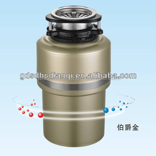 Food waste disposer with overload protector, Easy mount garbage disposer