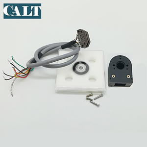 Calt PD32 Stepper Motor Encoder Modul Cakram 500 Pulse 6 Mm Lubang 5 V ABZ Tegangan Saluran Output Sensor Optik