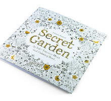 Hot Selling on Amazon Secret Garden children's coloring book