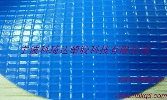 1000d polyester, blue vinyl bache pour piscine couverture