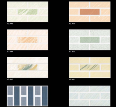 Wall tile 6 x 8 200X400 300X600 decorative brick wall foam tile
