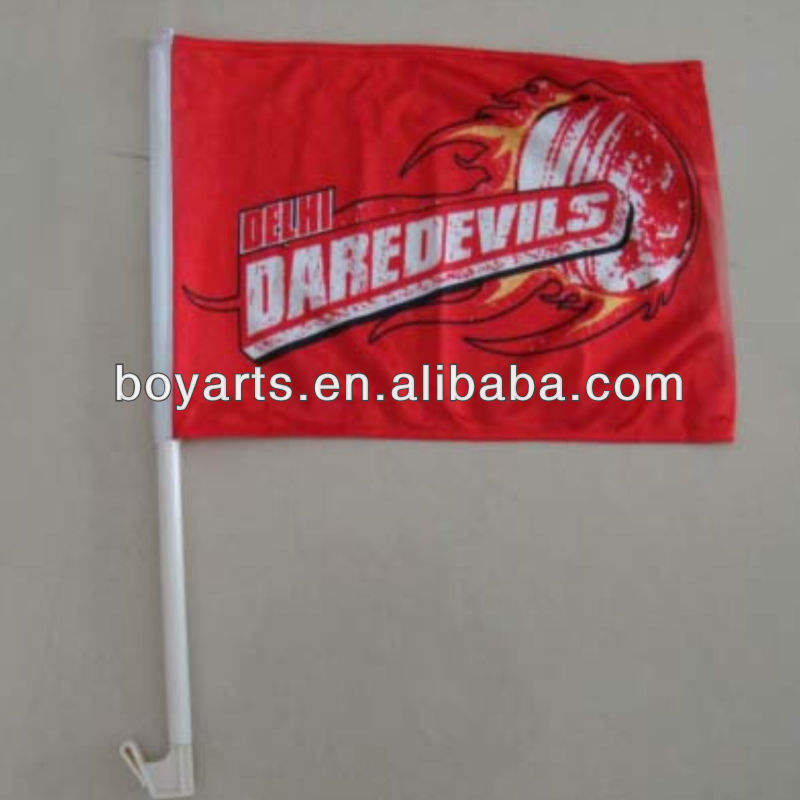 promotional car flag