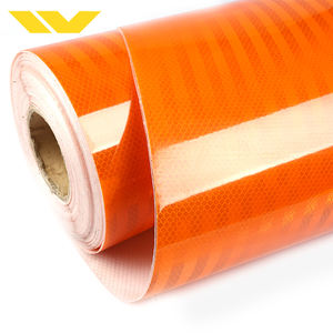 Orange Color Super Intensity Grade Self Adhesive MicroPrismatic Reflective Sheeting