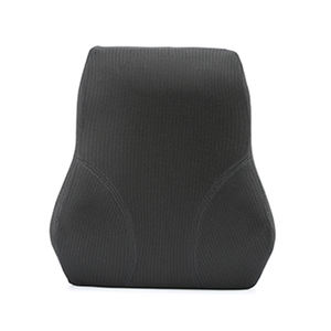 Orthopedic Foldable Comfort Floor Wheelchair Lumber Car Seat Back Rest Pillow Memory Foam Lumbar Support Cushions For Chair
