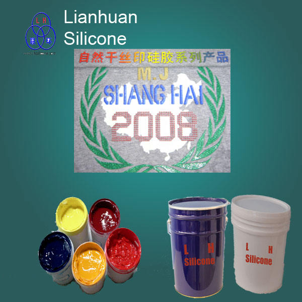 high quality silk screen printing dispensing liquid silicone material