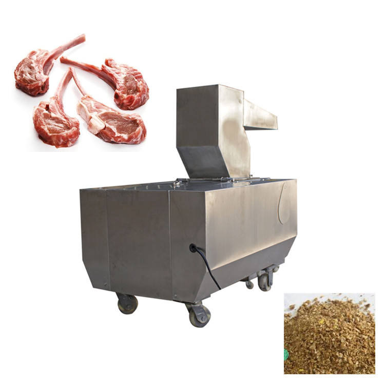 Bone mud mill bone pulverizer electric cow bone breaking machine