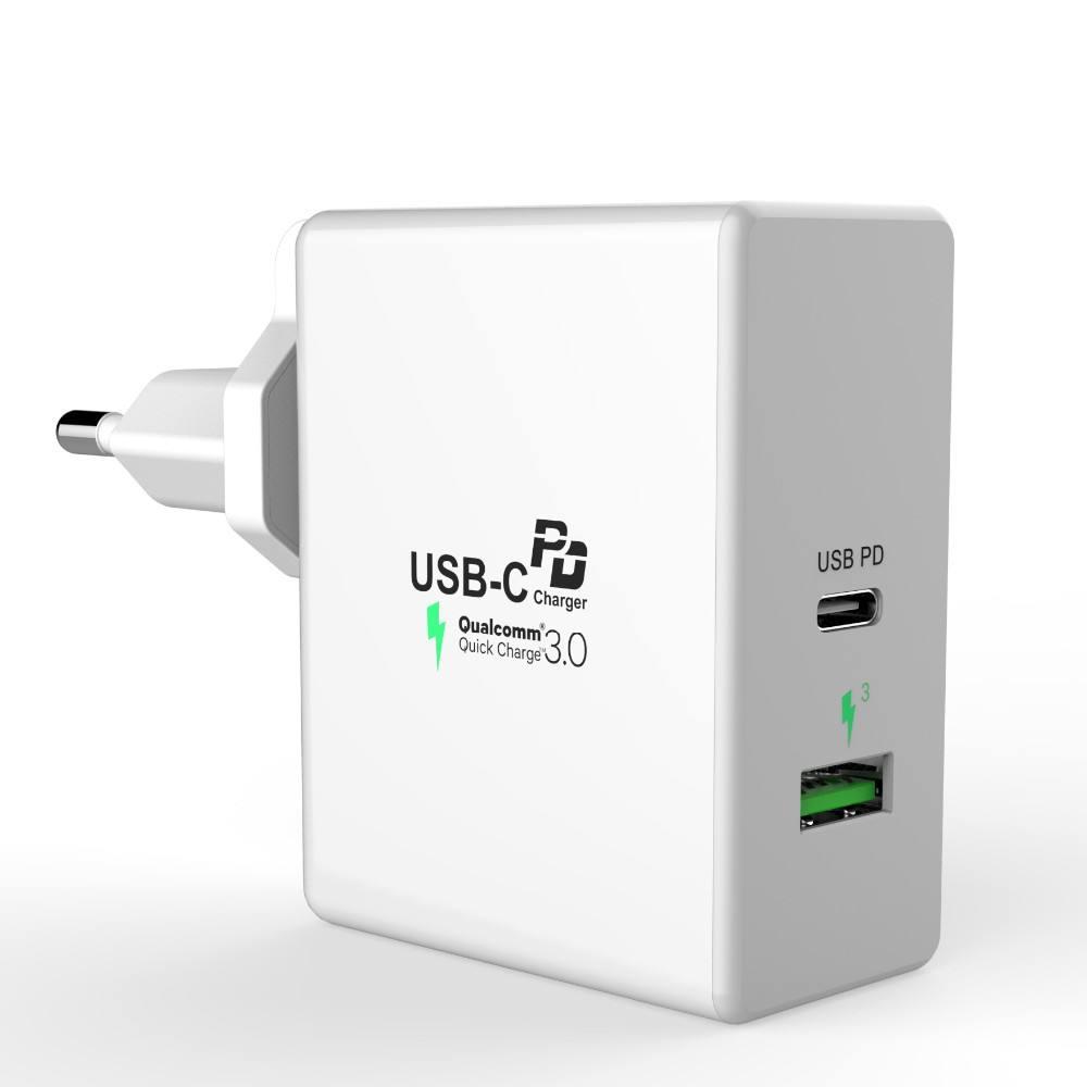 45W akıllı telefon mobil şarj C tipi USB-C PD Duvar ev iç