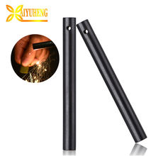Outdoor multi new style 1/2 ferrocerium rod firesteel fire starter log paraffin