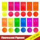Fluorescent Pigment For Rubber Latex Coloring/Dying (latex balloons, gloves, toys etc)
