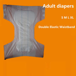 Printed Thick Diaper Adult Baby