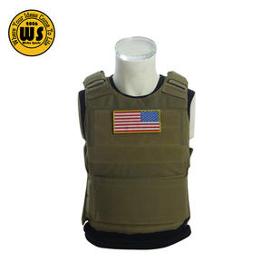 Materiale di Nylon nero BH Down Body Armor Piastra di Supporto di Sicurezza Della Polizia Tactical Vest