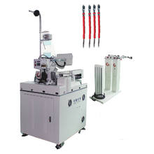 factory made fully automatic cable wire cutting stripping twisting crimping  soldering  wire tinning machine