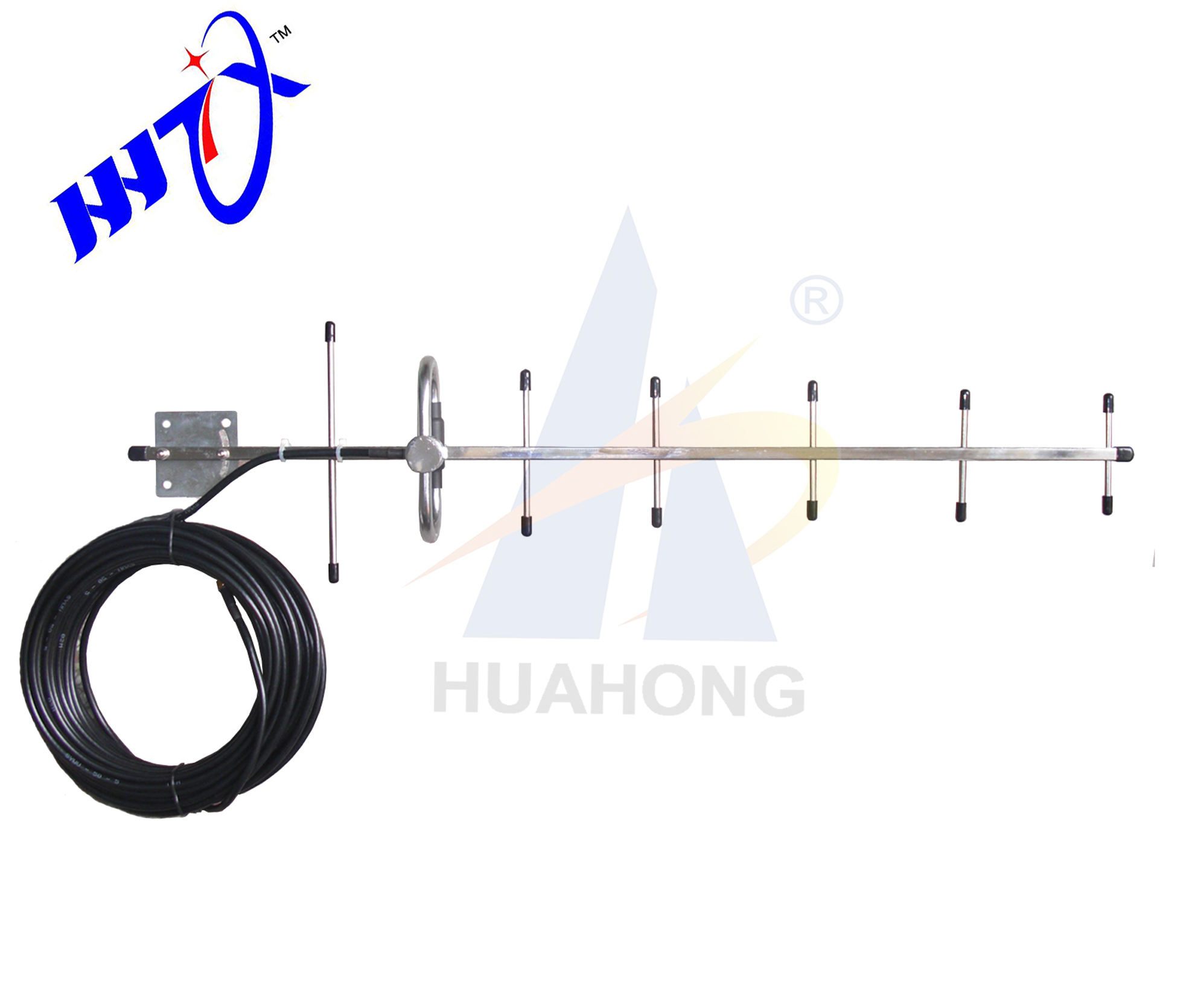 Factory price 10 elements 10db 606-670mhz outdoor hdtv yagi antenna
