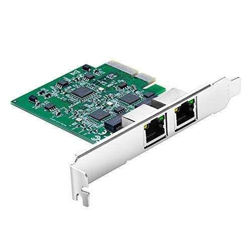 HBM PCI Express Gigabit Ethernet RJ45 LAN Network Card
