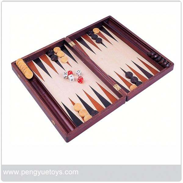 PY5003 Deluxe <span class=keywords><strong>Glas</strong></span> <span class=keywords><strong>Backgammon</strong></span> Board Set In Bordspel Van Eagle Creatie Toys