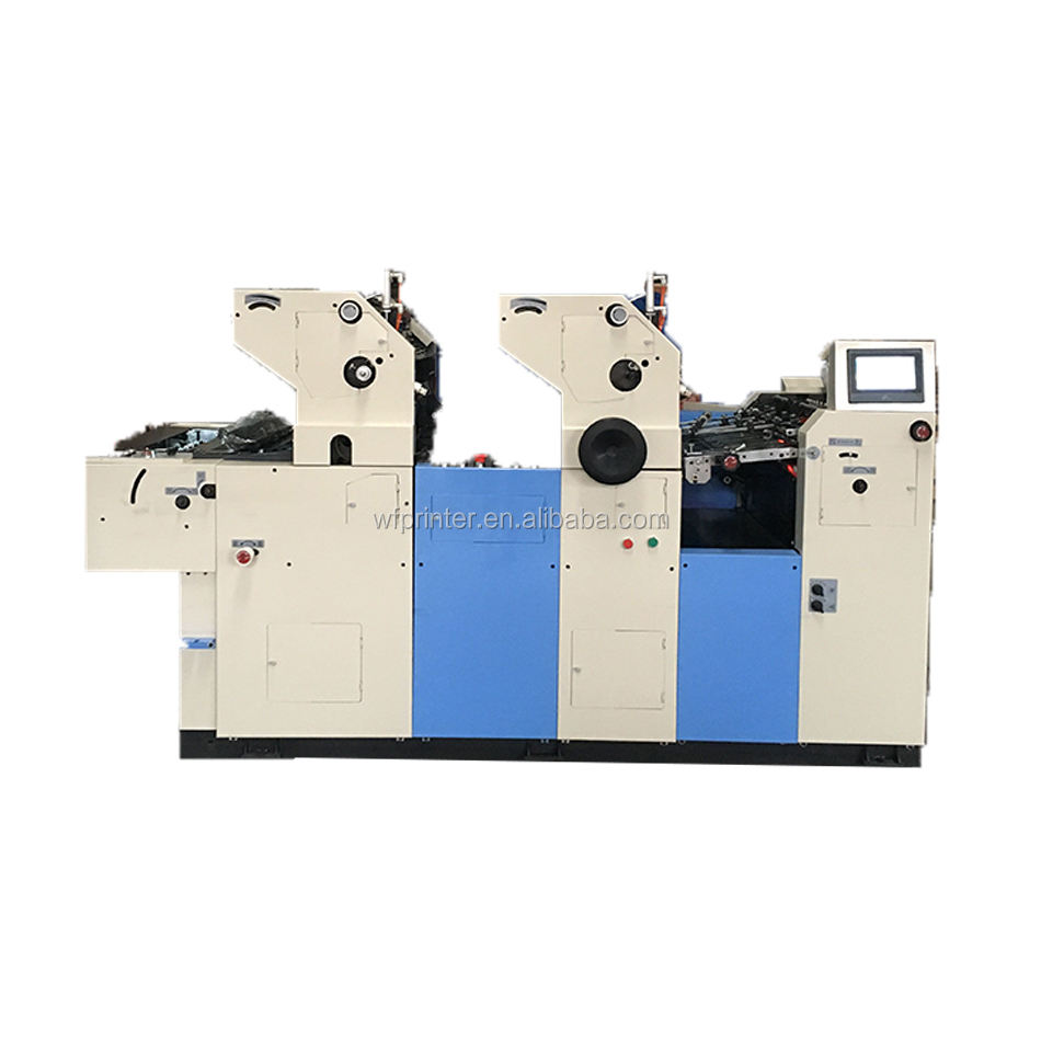 2017 HOT two color paper cup offset printing machine in good price