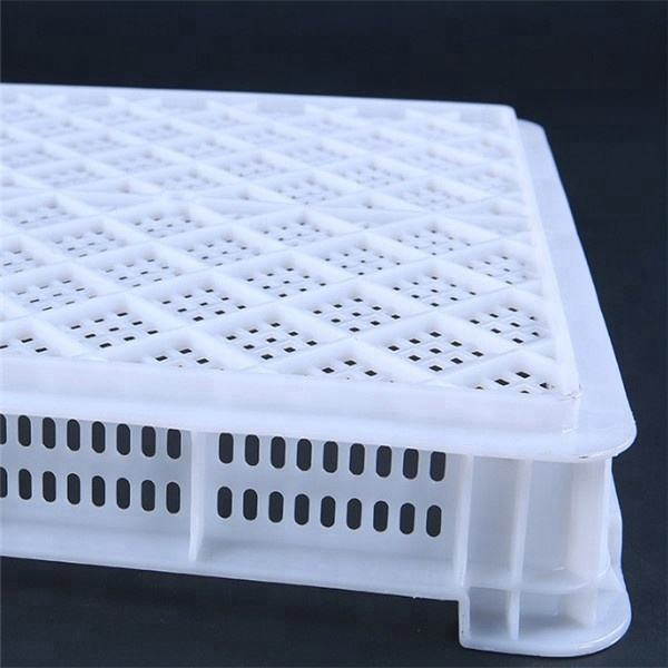 open air drying perforated plastic trays