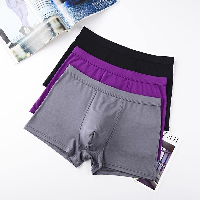 Mens Soft Breathable Pastel Wallpapers Underwear Boxer Briefs