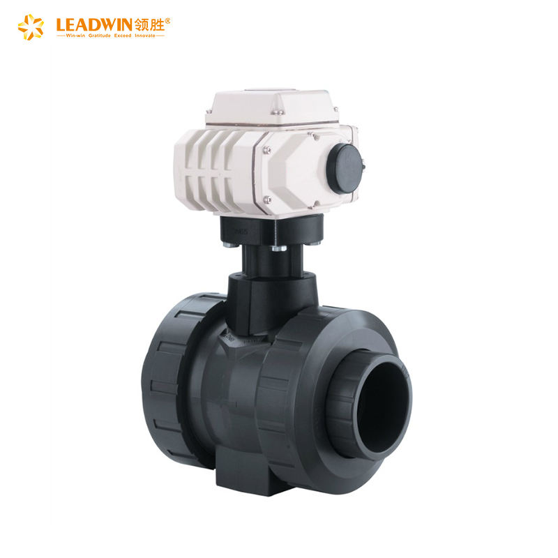 Modulated or on-off 24v 12v electric water mini motorized ball valve control valve