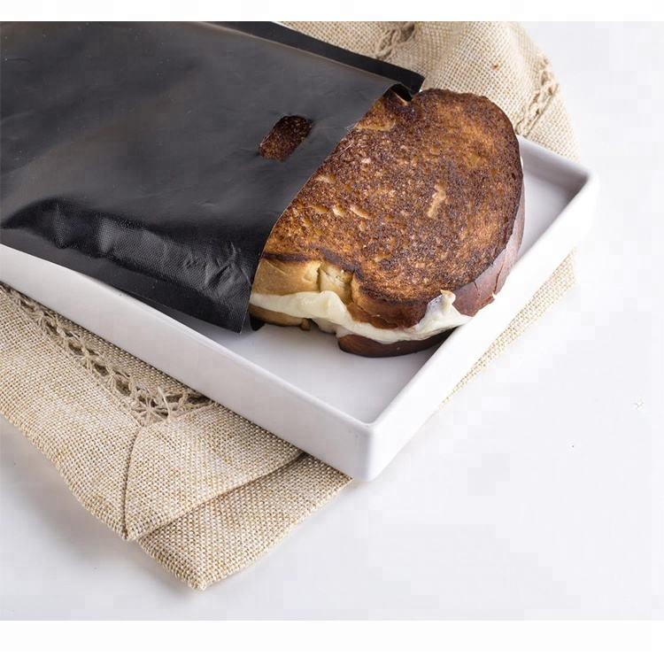 Toaster Bags Reusable Non-stick Baked Toast Bread Bags For Grilled Cheese Sandwiches Made Easy Pastry Bag