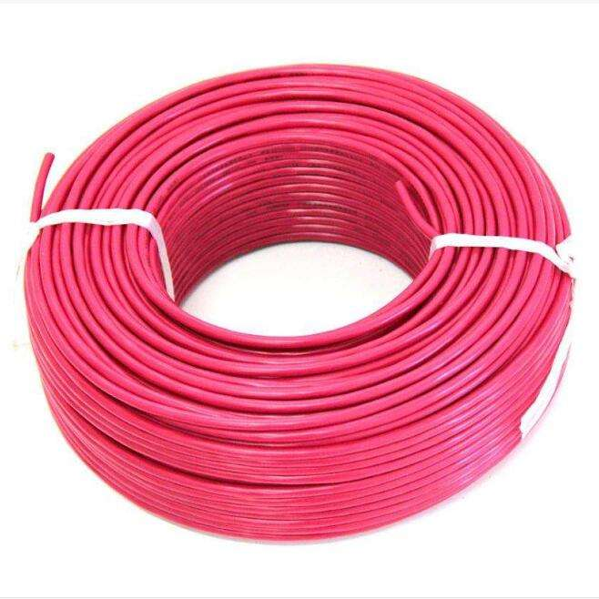 Self-supporting copper wire pvc insulated non sheathed cables