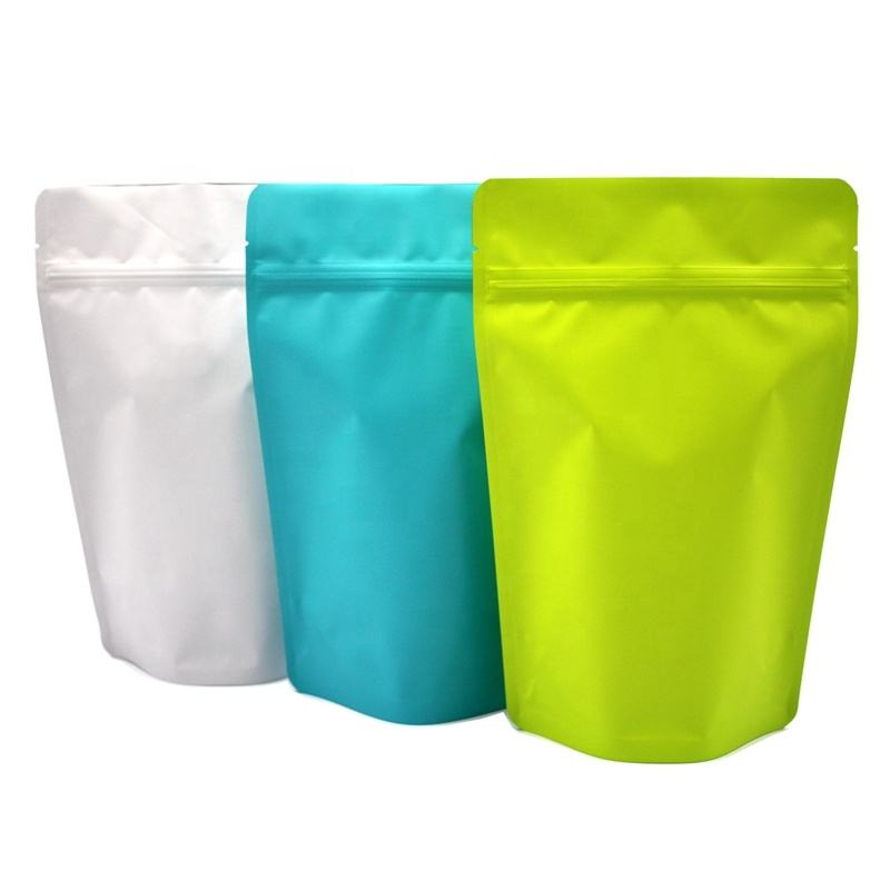 China Suppliers High Quality Matte Plastic Packaging Stand Up Pouch Bag