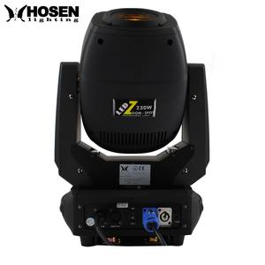 Desain Baru 230 W LED Spot Gobo Beam Moving Head Light