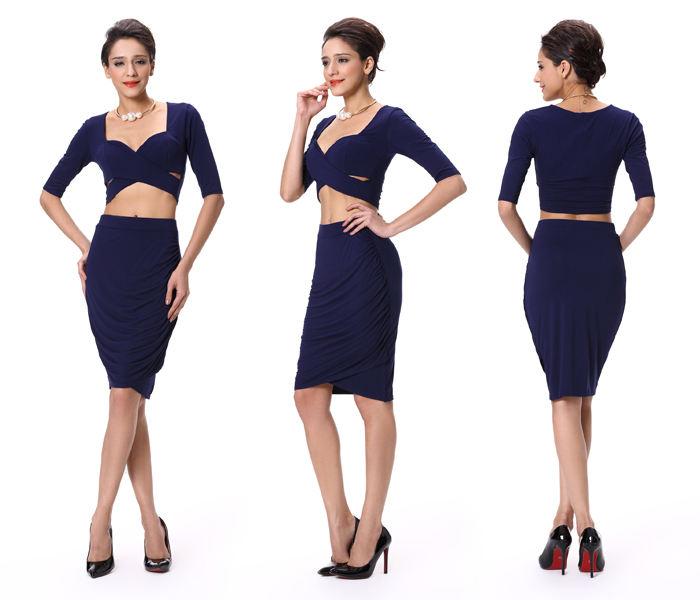2018 оптовая продажа горячий дизайн две штуки дамы одежда