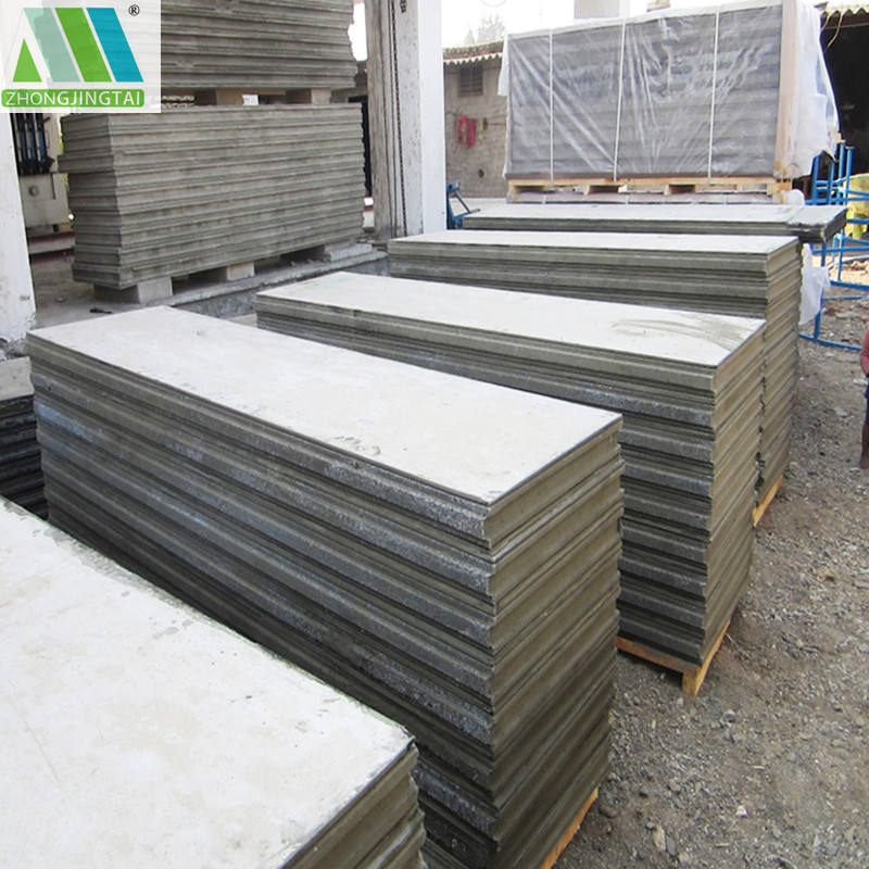Easy transport and lidhtweight concrete block Eps Sandwich Wall Panels for exterior wall