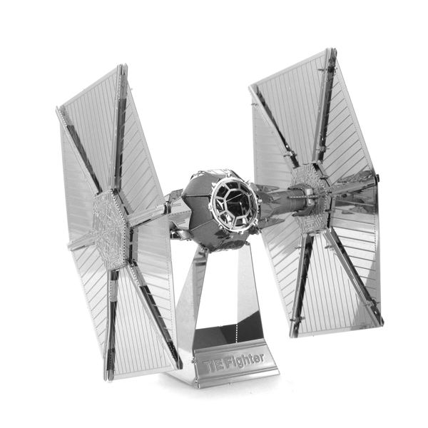 Educational Toys Mixed Weapon Tie Fighter 3D Metal Puzzle Magnetic 3d Jigsaw Puzzles