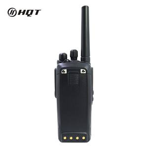 OEM Polisi Militer DMR Digital Tangan Jarak jauh VHF UHF 2 Way Radio IP67 Tahan Air
